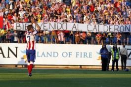 گزارش تصویری: مراسم معارفه آنتونی گریزمان، شماره 7 جدید تیم فوتبال اتلتیکو مادرید