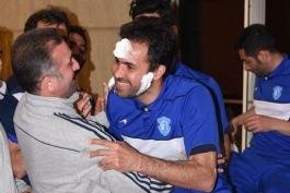 گزارش تصویری؛ برگزاری جشن تولد نصرتی و پزشک تیم گسترش در اردوی ترکیه