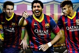 خط حمله بارسلونا آرزوی هر سرمربی