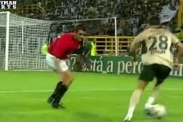 رونالدو دراسپورتینگ لیسبون مقابل منچستر