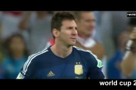 📌لحظات غم انگیز مسی در تیم ملی آرژانتین