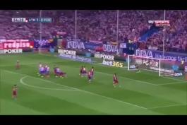 ویدیو؛ گل فوق العاده ی (شاهزاده) به اتلتیکو مادرید