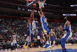 دیترویت پیستونز - گلدن استیت وریرز - بسکتبال nba