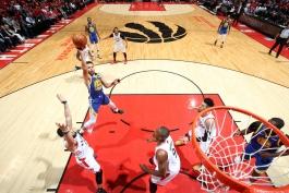 تورنتو رپترز - گلدن استیت وریرز - scotiabank arena - بسکتبال nba