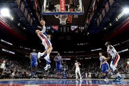 دیترویت پیستونز - فیلادلفیا سیکسرز - Little Caesars Arena - بسکتبال NBA