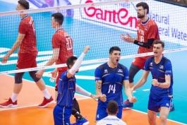 فرانسه - روسیه - صربستان - والیبال
