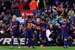 FC Barcelona - La Liga - بارسلونا - لالیگا - Lionel Messi - Ivan Rakitic - Philippe Coutinho - Samuel Umtiti