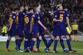 بارسلونا - FC Barcelona - Champions League - لیگ قهرمانان اروپا