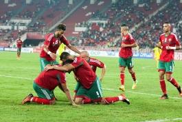مراکش- قهرمان آفریقا- تیم ملی فوتبال مراکش