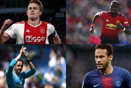 منچستریونایتد-رئال ماردید-آژاکس-پاری سن ژرمن-PSG-Manchester United-Ajax-Real Madrid
