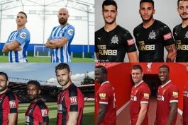 نیوکاسل- برایتون- لیورپول- بورنموث- انگلیس- لیگ برتر- Premier League sleeve sponsors