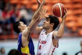 بسکتبال - تیم ملی بسکتبال ایران