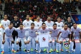 فوتسال - فوتسال ایران - تیم ملی فوتسال