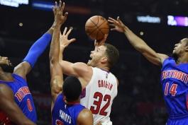 بسکتبال NBA - دیترویت پیستونز - لس آنجلس کلیپرز