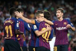 گزارش تصویری؛ بارسلونا 8-2 هوئسکا؛ ساده اما پرشکوه