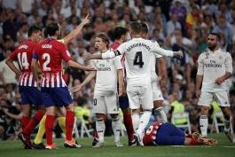 رئال مادرید-اتلتیکو مادرید-لالیگا-real madrid-atletico madrid-دربی مادرید