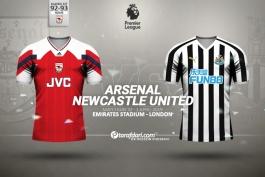 پیش بازی-لیگ برتر انگلیس-arsenal-newcastle