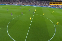 بارسلونا-لالیگا-ویارئال-اسپانیا-barcelona-la liga-Villarreal