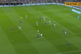 بارسلونا-والنسیا-لالیگا-اسپانیا-ورزشگاه نیوکمپ-barcelona-la liga-valencia