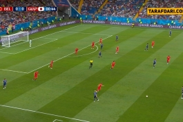 خلاصه بازی - بلژیک 3-2 ژاپن