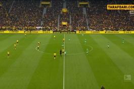 دورتموند-وردربرمن-بوندس لیگا-آلمان-ورزشگاه سیگنال ایدونا پارک-dortmund-bremen-bundesliga