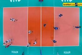 خلاصه بازی والیبال - فرانسه 3-1 ایران