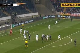 خلاصه بازی آینتراخت فرانکفورت 4-0 مارسی (لیگ اروپا - 2018/19)