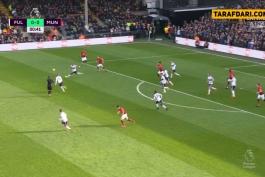 فولام-منچستریونایتد-لیگ برتر انگلیس-Fulham-Manchester United-EPL
