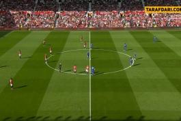 منچستریونایتد-لسترسیتی-لیگ برتر انگلیس-ورزشگاه اولدترافورد-Manchester United-Leicester City-EPL