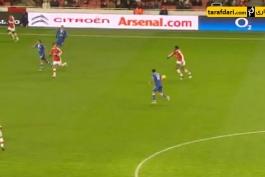 گل روز باشگاه آرسنال - روسیچکی به اورتون (2010)