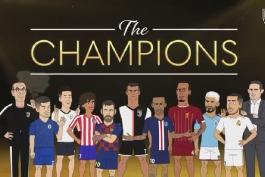 اتلتیکو مادرید-چلسی-یوونتوس-لیورپول-تاتنهام-منچسترسیتی-لیگ قهرمانان اروپا-atletico madrid-chelsea-juventus-barcelona-UCL-la liga