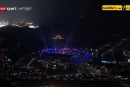 مراسم افتتاحیه بازی های المپیک زمستانی پیونگ چانگ با کیفیت HD