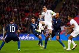 آخرین بازی ملی وین رونی-کاپیتان سابق سه شیرها-ومبلی