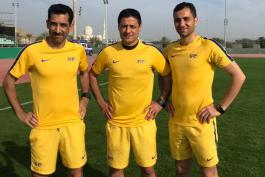 داوران ایرانی-داور-کمک داور-جام ملت های آسیا