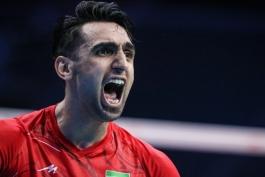 والیبال-بازیکن تیم ملی والیبال-والیبال ایران-iran-Iran men's national volleyball team