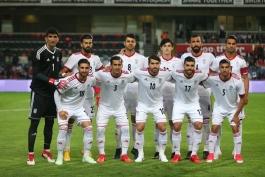 بازیکنان تیم ملی-تیم ملی فوتبال ایران