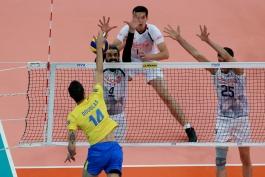 والیبال- تیم والیبال ایران-تیم والیبال برزیل