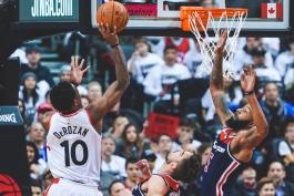 بسکتبال nba-تورنتو رپترز-واشنگتن ویزاردز
