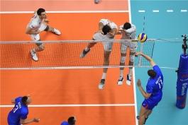 لیگ ملت های والیبال-تیم ملی والیبال روسیه-تیم ملی والیبال فرانسه