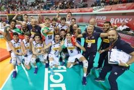 والیبال روسیه-والیبال ایتالیا-volleyball