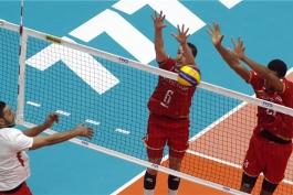 والیبال قهرمانی جهان-والیبال فرانسه-والیبال مصر