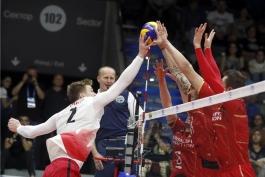 تیم ملی والیبال فرانسه-تیم ملی والیبال کانادا-والیبال قهرمانی جهان