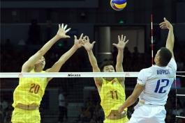 والیبال چین-والیبال فرانسه-والیبال-لیگ ملت های والیبال