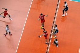 لیگ ملت های والیبال-والیبال ایران-والیبال چین