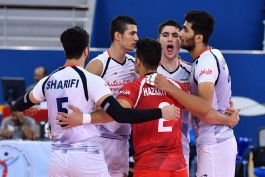 جوانان والیبال-والیبال ایران