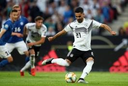گوندوعان: حتی پس از زدن 5 گل به استونی، فوتبال خود را ادامه دادیم؛ اکنون با حسی خوب به تعطیلات میرویم