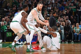 مسابقات NBA- بسکتبال آمریکا- تی دی گاردن- بوستون سلتیکس- دیترویت پیستونز