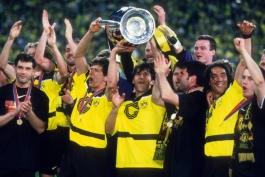 بروسیا دورتموند- بوندس لیگا- آلمان- قهرمانی دورتموند در لیگ قهرمانان اروپا