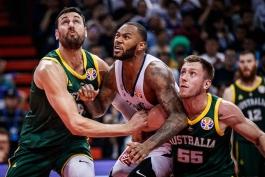 جام جهانی بسکتبال- بسکتبال فرانسه- بسکتبال- استرالیا- استرالیا- فرانسه