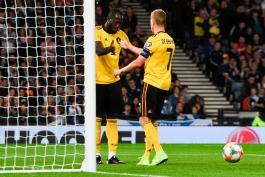 اسکاتلند 0-4 بلژیک؛ کوین دی بروین، ستاره درخشان در فتح همپدن پارک